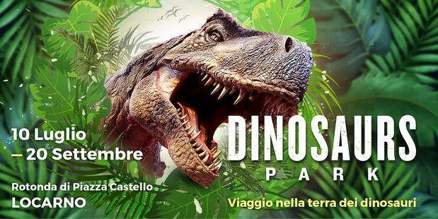 Dinosauri a Locarno